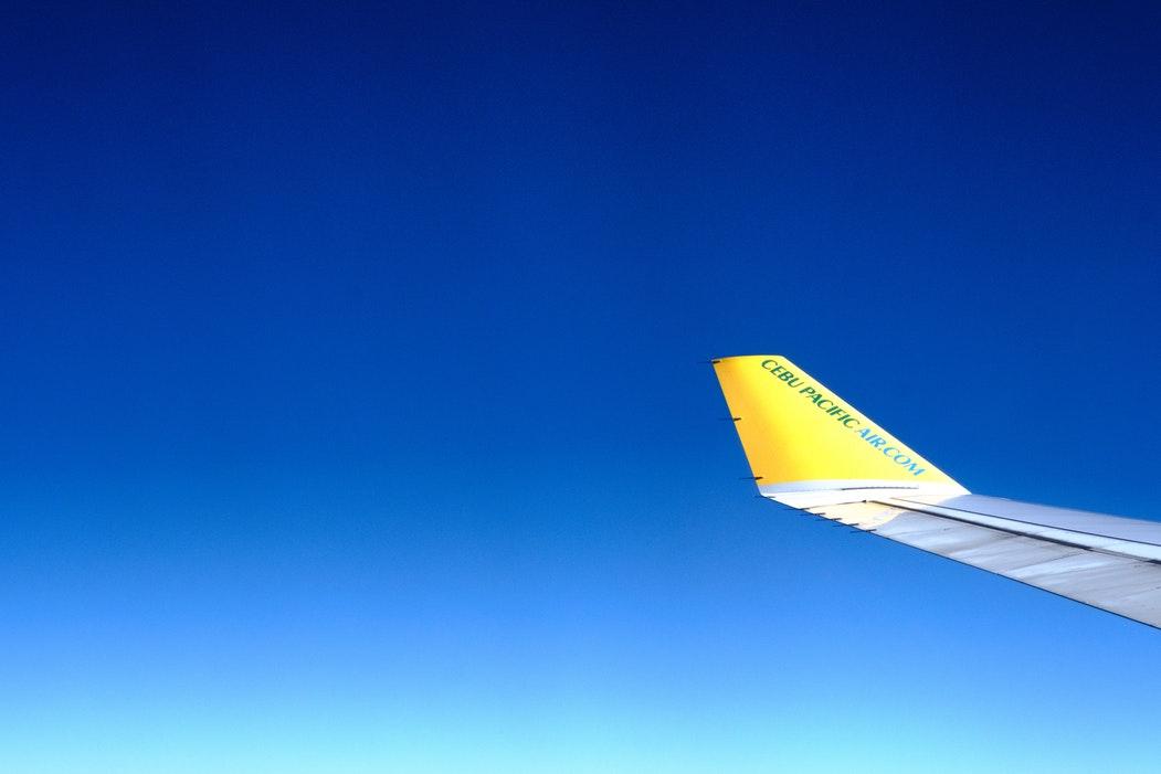 the plane of Cebu pacific