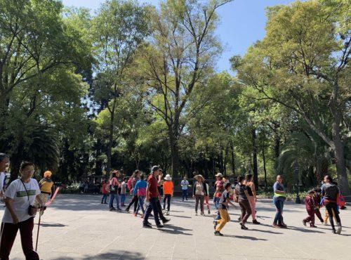 メキシコシティの広場